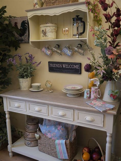mels country kitchen shabby chic country farmhouse style console side 4060