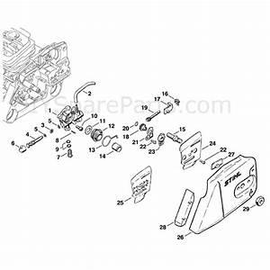 Stihl Ms 360 Chainsaw  Ms360  Parts Diagram  Oil Pump