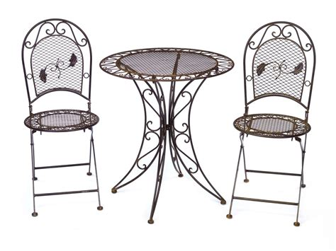 vintage wrought iron patio furniture ebay antique style garden furniture set table 2 chairs