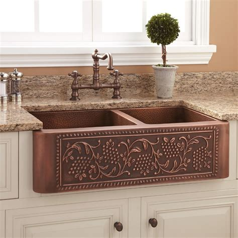 copper apron kitchen sink copper apron sink ideas the homy design 5782