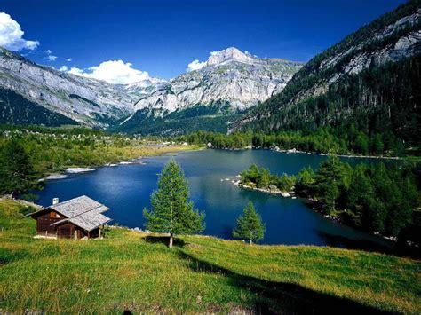 album de las vaciones de julyp en los alpes suizos