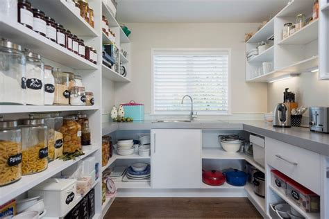 organized   scullery kitchen   home