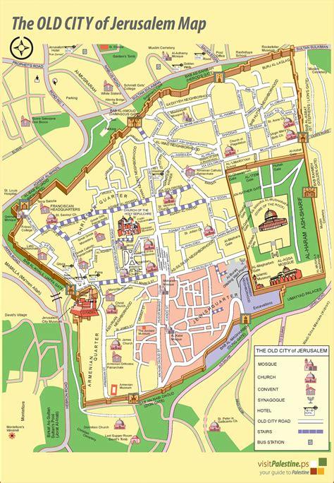 jerusalem  city map