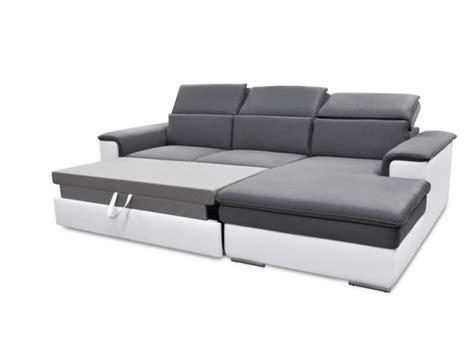 canapé convertible relax canapé d 39 angle convertible avec têtières 3 coloris connor