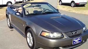2001 Ford Mustang Convertible Mineral Gray For Sale  U266b U263c U266b