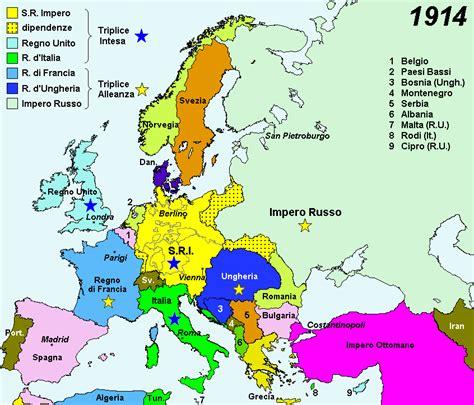 Impero Ottomano Prima Mondiale U T E Sacile Storia Contemporanea