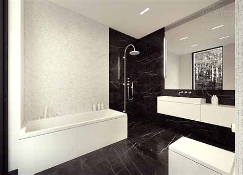 Black And White Marble Tile Color
