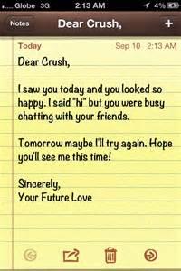 Dear Crush Quotes Tumblr