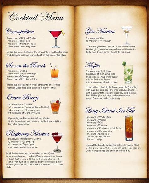 cocktail menu cocsoc cocktail menu menu bar cocktail menu cocktails and drinks
