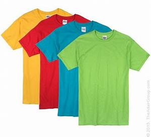 Bright Color Adult T Shirts