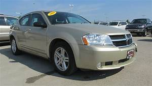 2010 Dodge Avenger Sxt Start Up  Walkaround And Vehicle