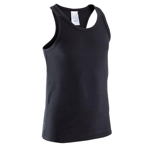 black o tank top koszulka energy domyos odziez damska fitness fitness