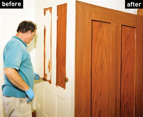 how to create a faux wood grain finish restoration
