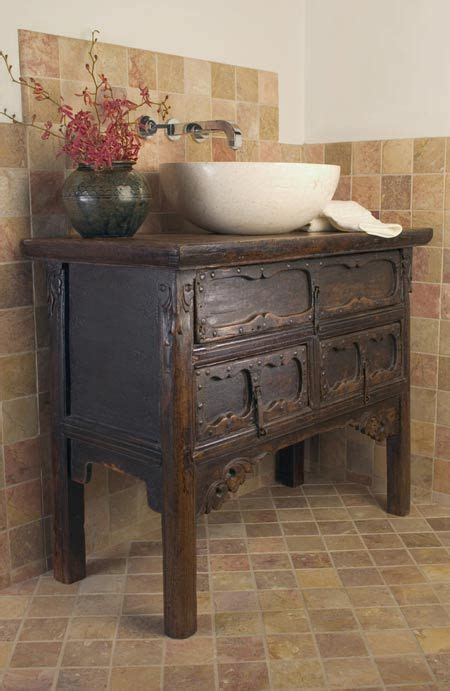 washstand   bathroom vanity anasian antique
