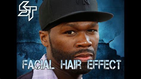 Beard & Facial Hair Effect Using The