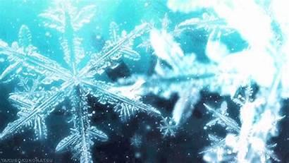 Animated Snowflake Snowflakes Gifs Pretty Snow Water