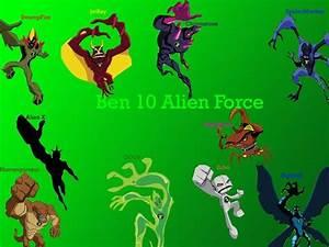 Ben 10 Alien Force All Aliens Together images