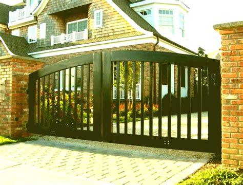 modern gate design aluminum single images