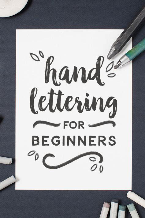 hand lettering for beginners tutorials journaling and journal