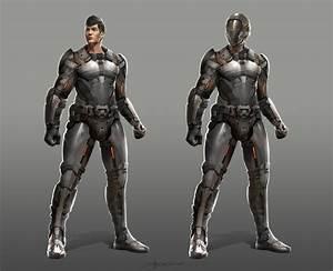 Sci-fi character design by TheRafa on DeviantArt