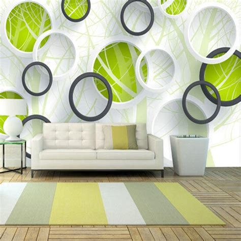 pvc vinyl printed designer  wall paper rs  piece