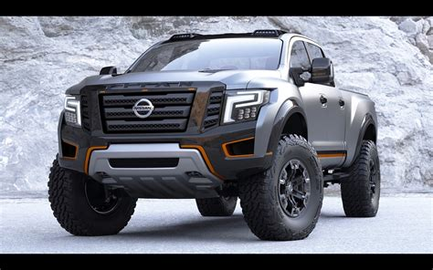 Nissan Terra Backgrounds by 2016 Nissan Titan Warrior Concept Static 18
