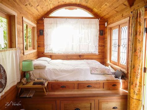 bedroom tiny house living large in a zyl vardos tiny house thurstontalk