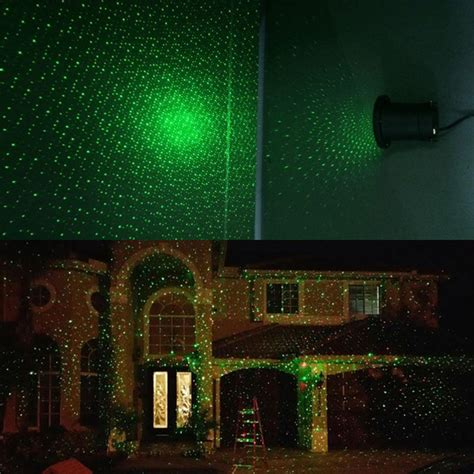 Christmas House Home Decoration Outdoor Lawn Laser Lights