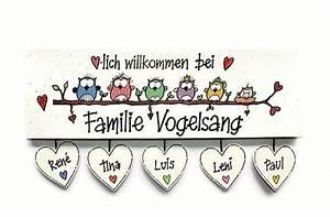 Türschilder Holz Familie : herzlich willkommen wandtattoo eule produkte ~ Lizthompson.info Haus und Dekorationen