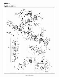 Red Max Cht2250 09 Sn 90100101  U0026 Up Parts Diagram For