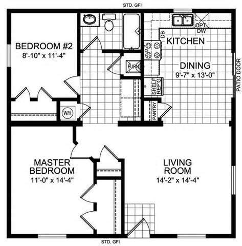 bedroom    house floor plans lake home ideas