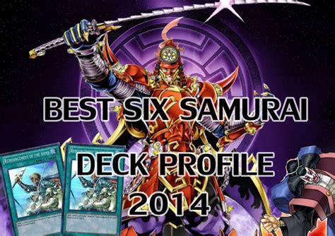 Yugioh Yubel Deck July 2014 by Yugioh The Best Six Samurai Deck Profile July 2014