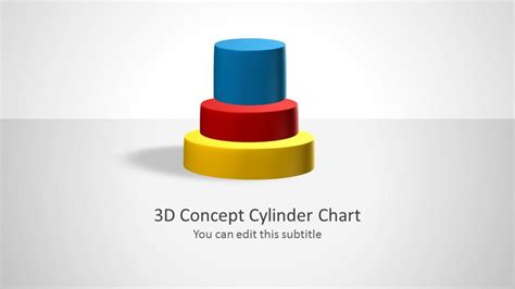 cylinder chart concept  powerpoint slidemodel