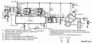 Two Chip Am Radio - Audio Circuit - Circuit Diagram