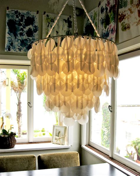 How To Make A Chandelier Out Of Paper by 21 Creative Diy Lighting Ideas