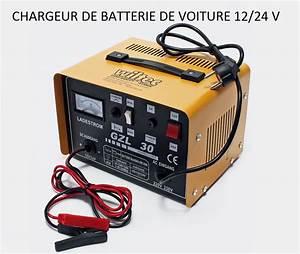 Charger Batterie Voiture : chargeur de batterie pour auto moto et voiture 12 24 v ~ Medecine-chirurgie-esthetiques.com Avis de Voitures