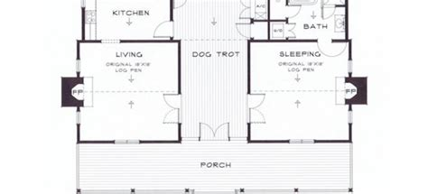 dogtrot cabin plans architectural designs diana s trot dogtrot cabin