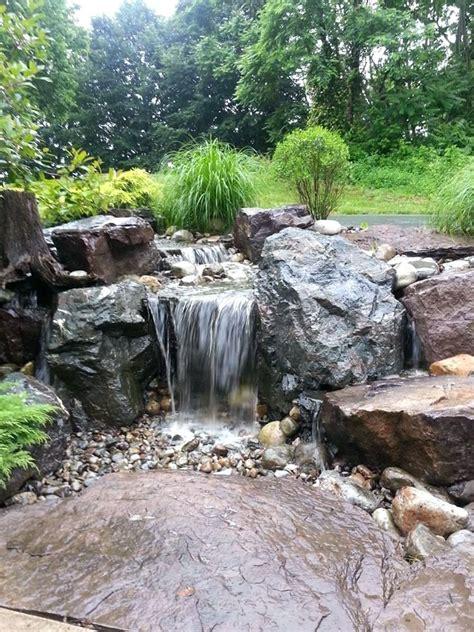 bathroom feature wall ideas diy pondless waterfall waterfall garden diy pondless
