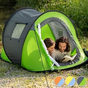Wurfzelt 4 Personen Günstig : wurfzelt pop up zelt automatikzelt camping strand trekkingzelt 2 personen gelb ebay ~ Bigdaddyawards.com Haus und Dekorationen