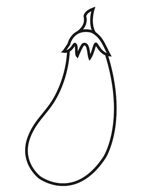 Coloring Eggplant by Eggplant Coloring Pages To And Print For Free