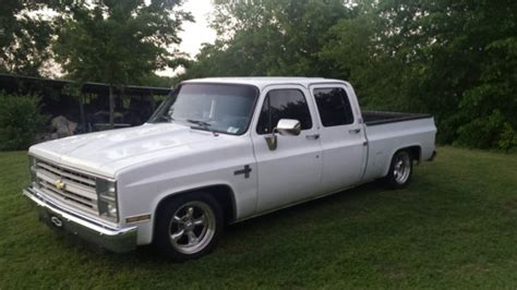 chevy 4 door truck for 1987 chevrolet silverado 4 door custom bed from