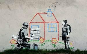 Banksy Backgrounds - Wallpaper Cave