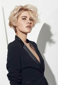 Coiffure Blonde Courte : 1001 looks qui vous font oser les cheveux couleur blond polaire ~ Melissatoandfro.com Idées de Décoration