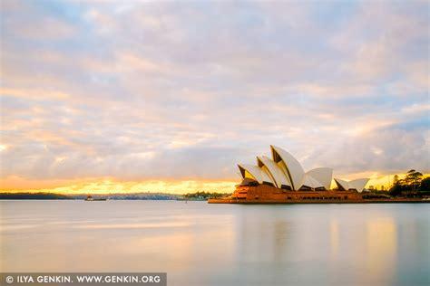 paster sunrise  sydney opera house sydney nsw