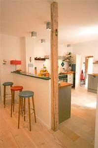 Wohnzimmer Mit Bar : tresen in der k che k chenideen pinterest tresen k che und wohnideen ~ Michelbontemps.com Haus und Dekorationen