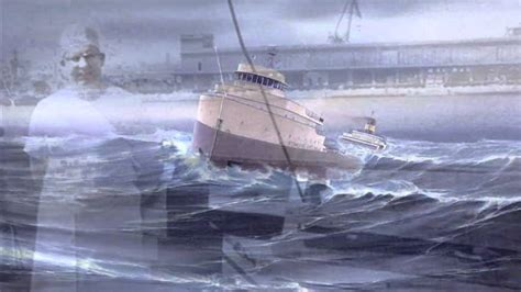 when did the edmund fitzgerald ship sank the wreck of the edmund fitzgerald