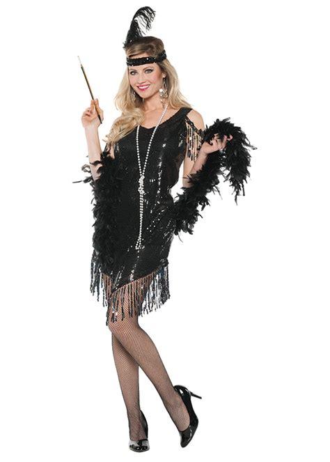 swinging flapper black women costume  costumes