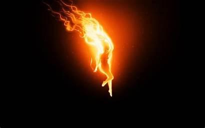 Fire Abstract Wallpapers Woman Magic огня Deviantart