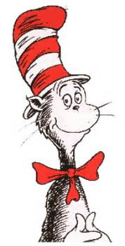 cat in the hat characters dr seuss birthday