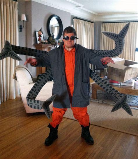 patton oswalt halloween costume patton oswalt s doctor octopus costume made by adam savage